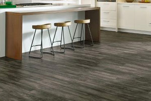 Dark LVT Flooring